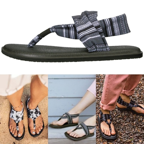 lace up in fashion styles outlet boutique Sanuk Shoes | New Yoga Sling 2 Prints Sonoma Sandal | Poshmark